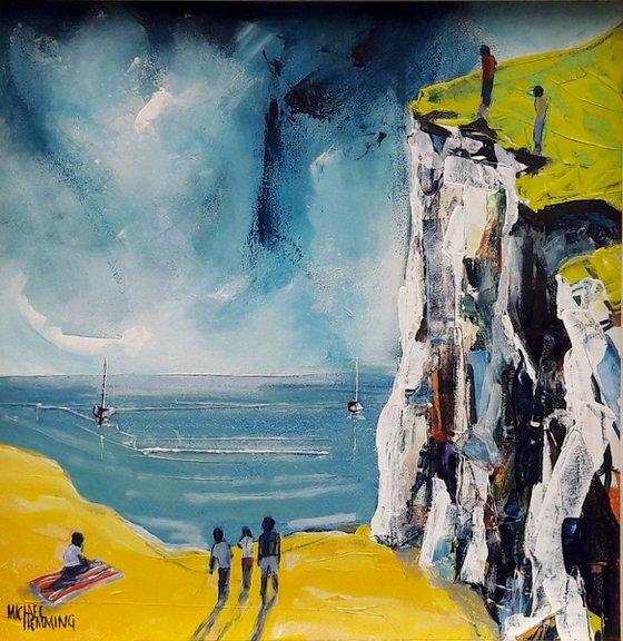 Beach Under The Cliff