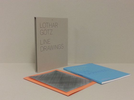 Correction (with book, Lothar Götz: Line Drawings)
