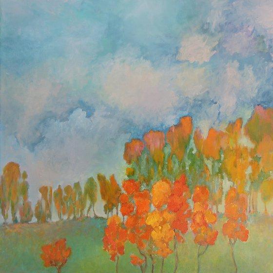 Autumnal atmosphere.