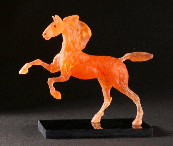 Running Horse - Chestnut.