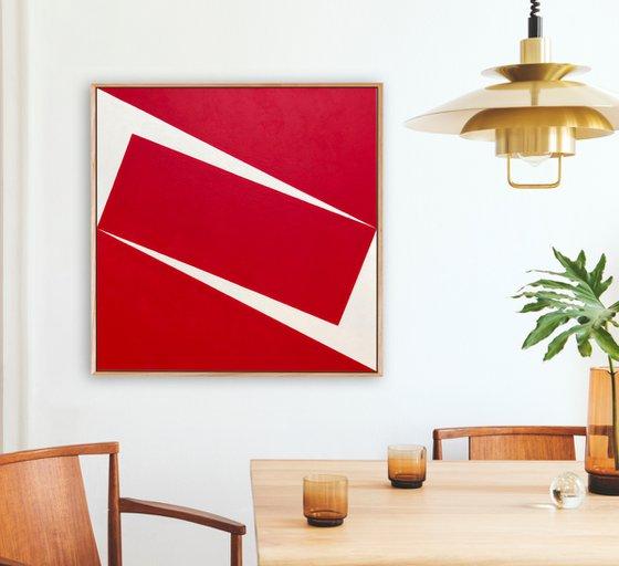 Pivotal (Geometric Acrylic Painting)