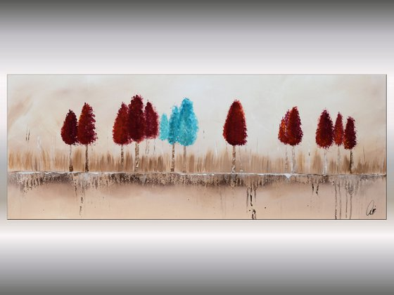 Autumn Colors  - Abstract Art - Acrylic Painting - Canvas Art -  Abstract Painting