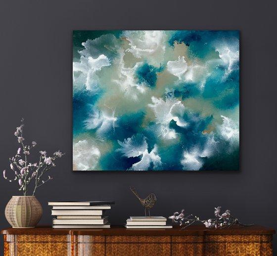 Delightful company - Abstract - 60cm x 50cm