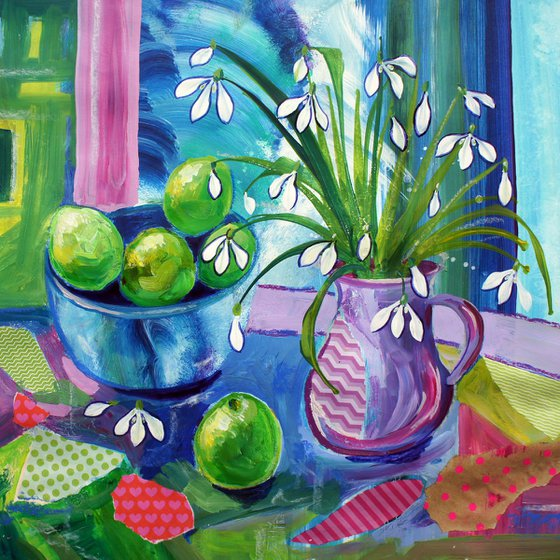 Snowdrops and Limes