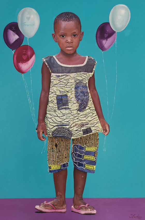 A Child Of Africa