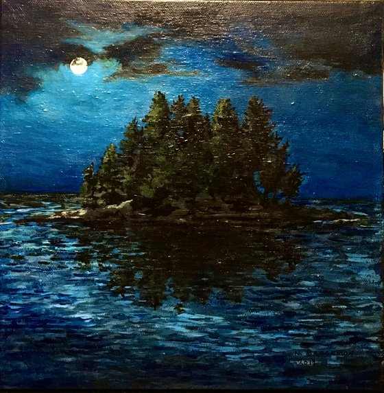 Full Moon - The Moon's a Harsh Mistress
