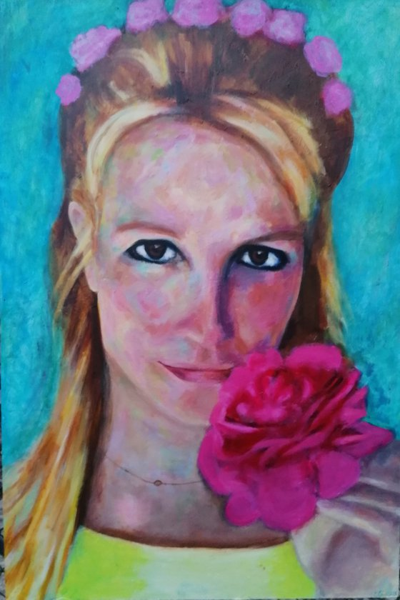 Britney Spears Original Portrait
