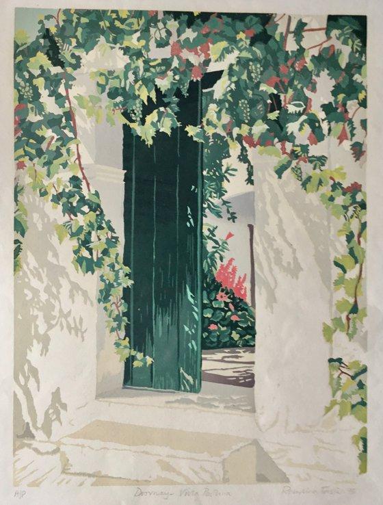 Doorway. Villa Paulina Spetses
