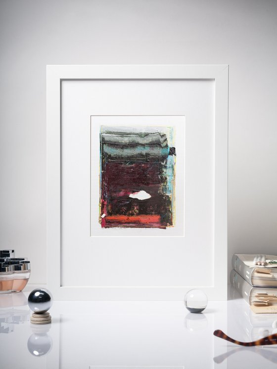 Modern Abstract Painting, NO PP #22, Ready for framing