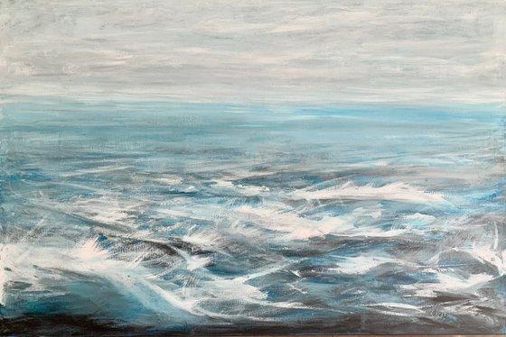 """""""Waves"""" - HUGE FORMAT 150x100cm"""