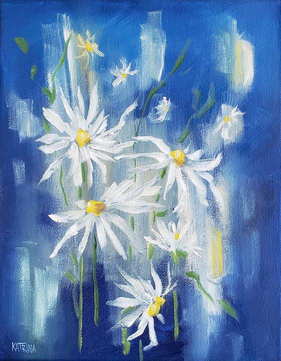 """Daisies in the Rain"" - Flowers"