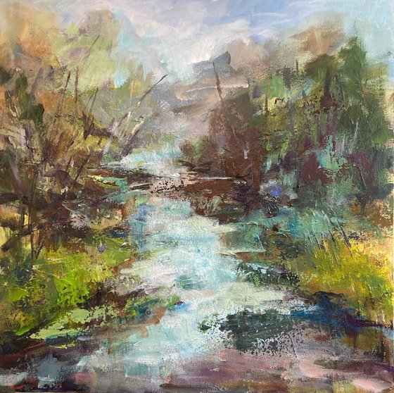Somerset woodland stream