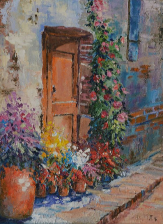 Cozy courtyard