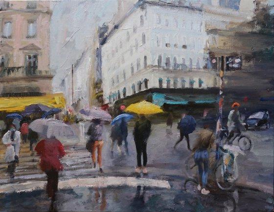 Paris, faubourg Montmartre