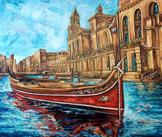 Maltese Regatta Boat Birgu