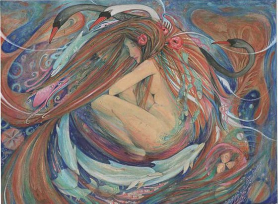 Time Goddess Dolphin Dreaming