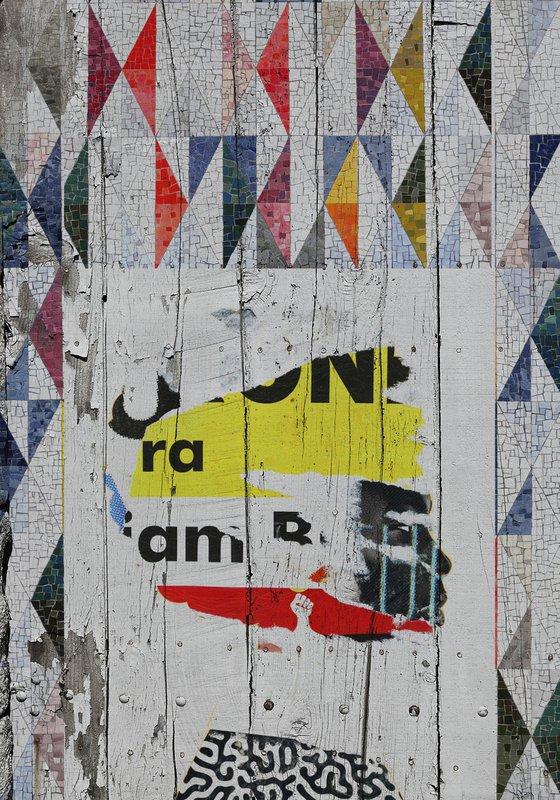 "Face art collection ""Fedbergsun"" - Vol 32. Art portrait on canvas"