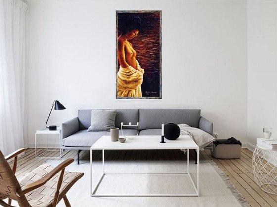 Asiatique  /  55 x 105 cm
