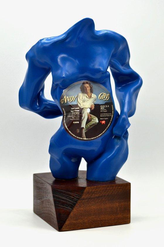"Vinyl Music Record Sculpture - ""Our Love"""