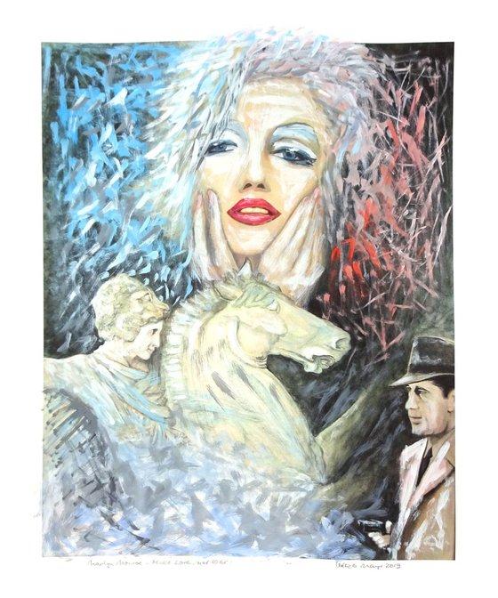 Marilyn, Make Love Not War, Series No.1