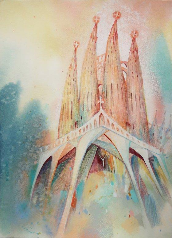 Barcelona - The Sagrada Familia