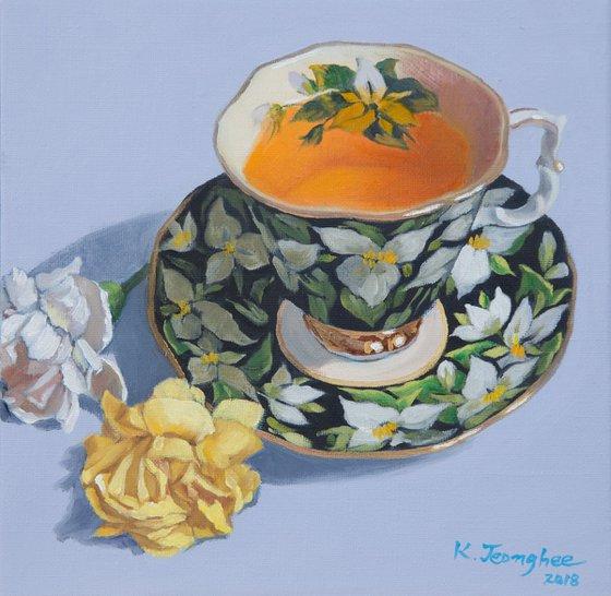 Teacup & Flower 2