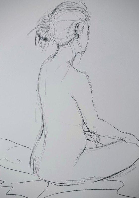 Life Drawing Study No 1