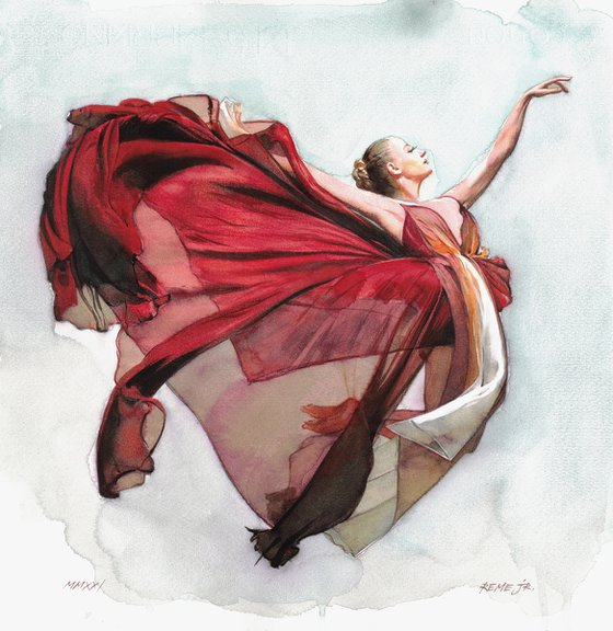 Ballet Dancer CXXI