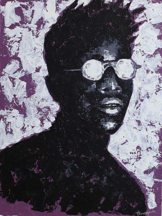 Michael (30x40 cm) acrylic painting on canvas
