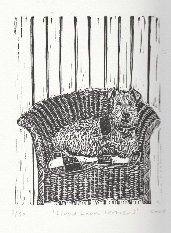Lloyd Loom Terrier I