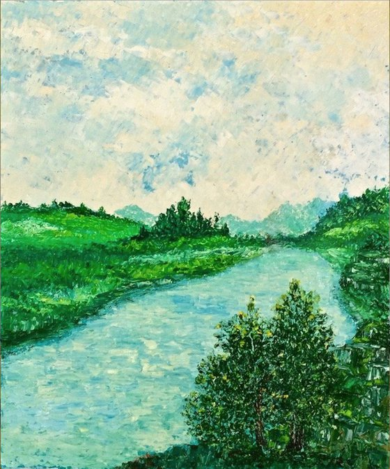 """Lago Montepulciano Toscana"""