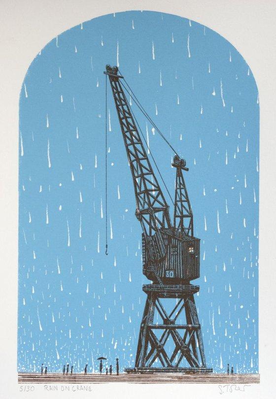 Rain on Crane