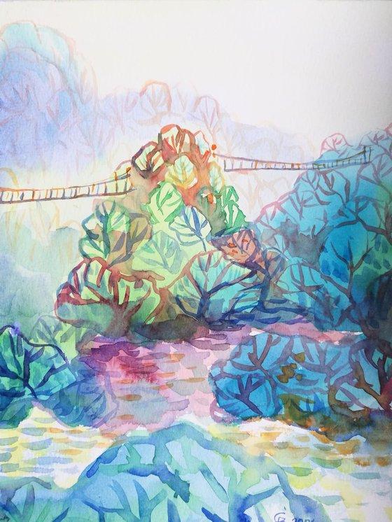 Painting   Watercolor   Spring III