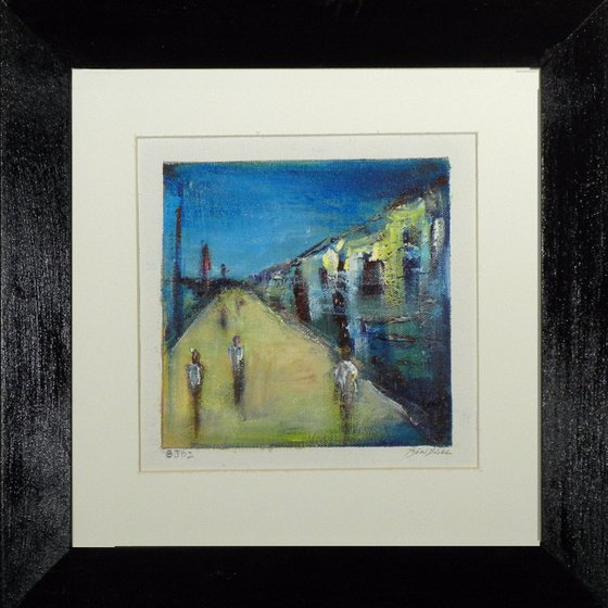 Small Framed Original Painting BJ02 by BenWill