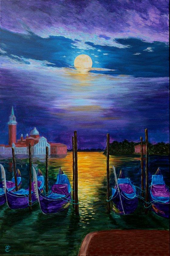 Sleeping Venice, 60*90