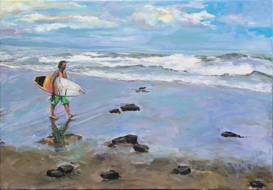 """""""Lonely surfer"""""""