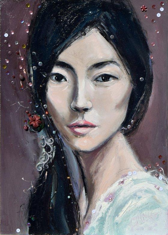 Asian girl (L'une 40)
