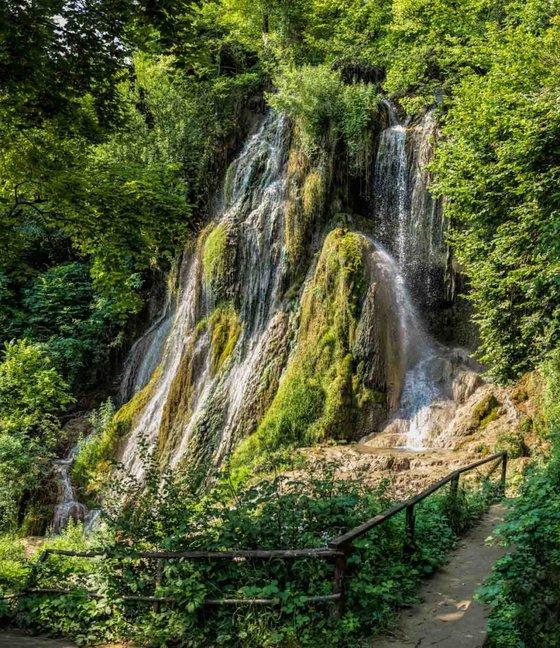 Transylvanian Waterfall  - Limited Edition Print
