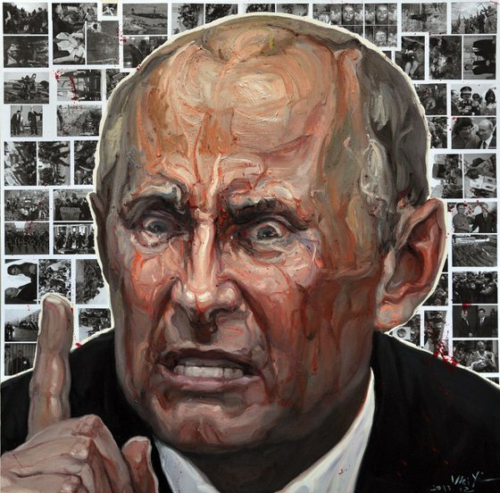 The  dictator No.9 Putin