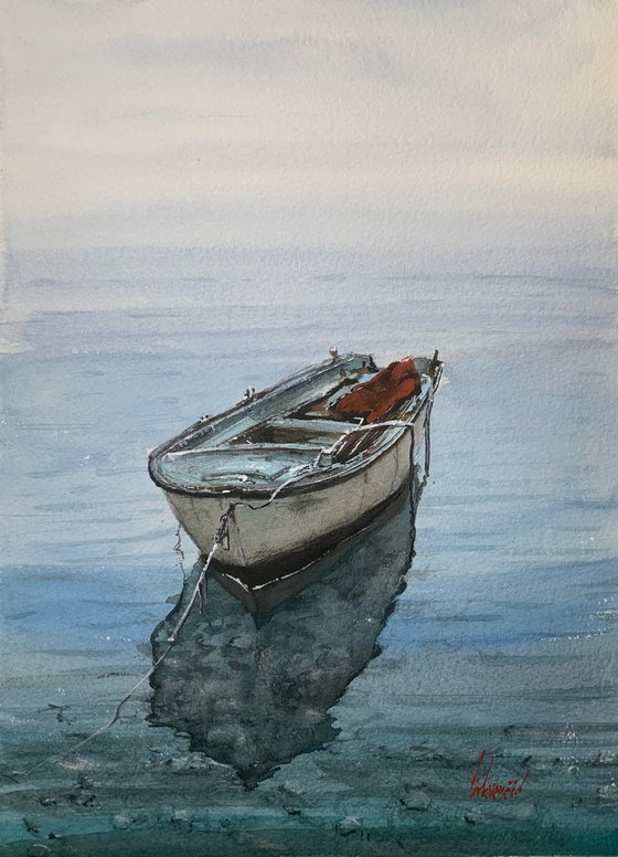 Old fishing boat II