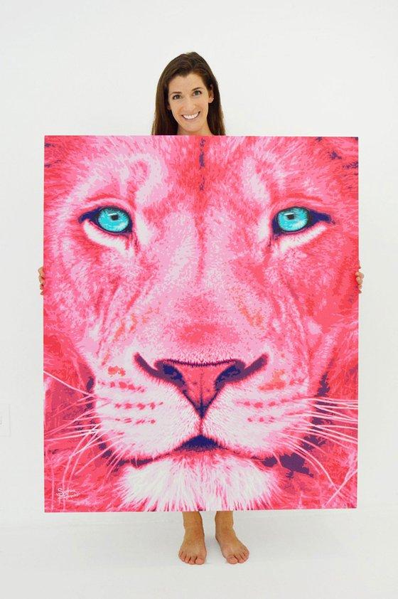 Pink Lion 2