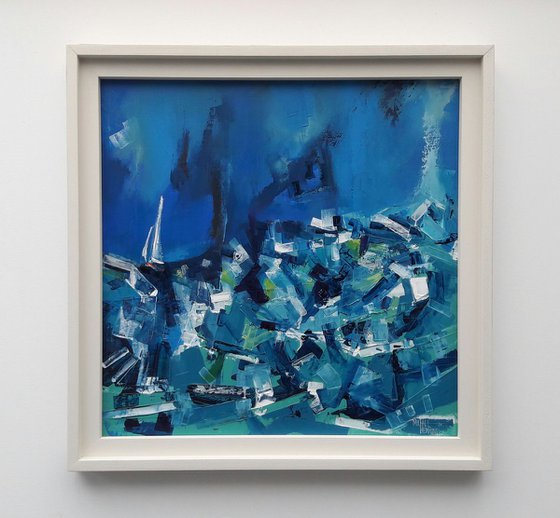 'Preparing To Set Sail' original oil by Michael Hemming