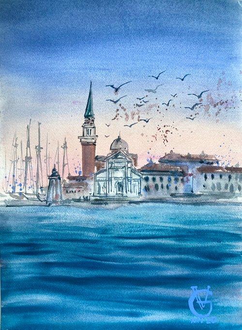 Sunrise in Venice 2