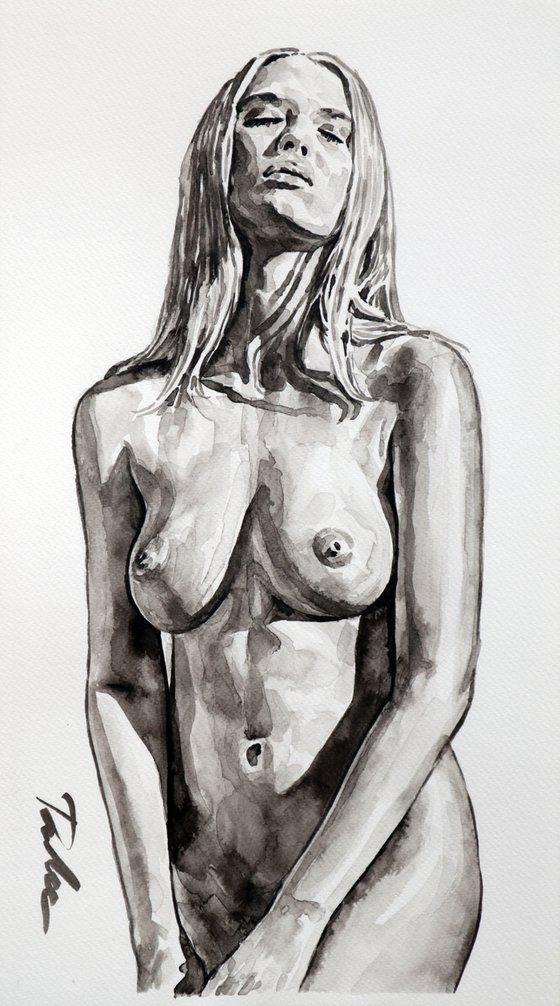 """Pure nudity""/ 25x45 cm"