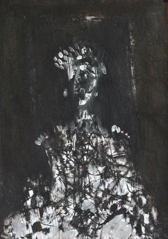 Madam X (30x42 cm)