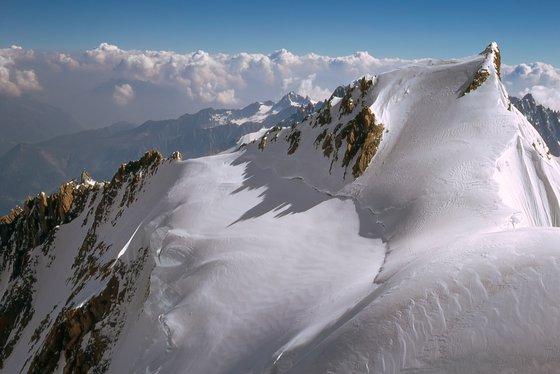 Mont Maudit and Aiguille du Midi