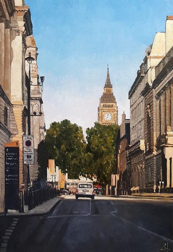 Солнце в Лондоне