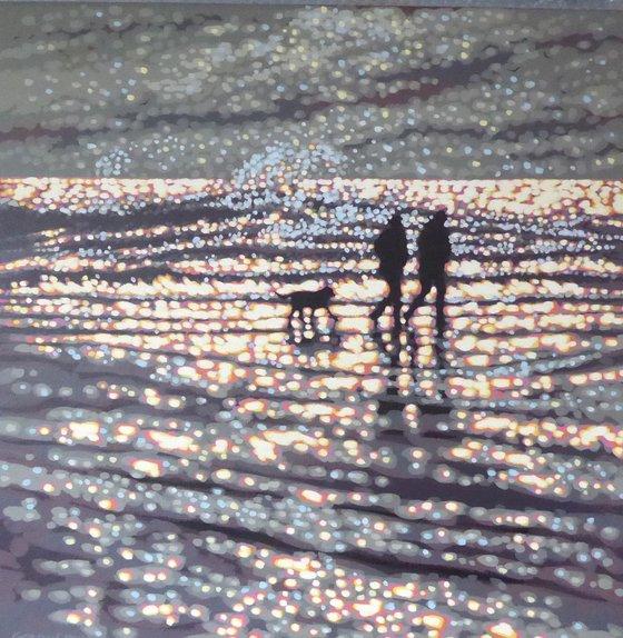 bright & breezy beach walk