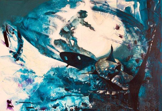 Painting   Acrylic   Underwater