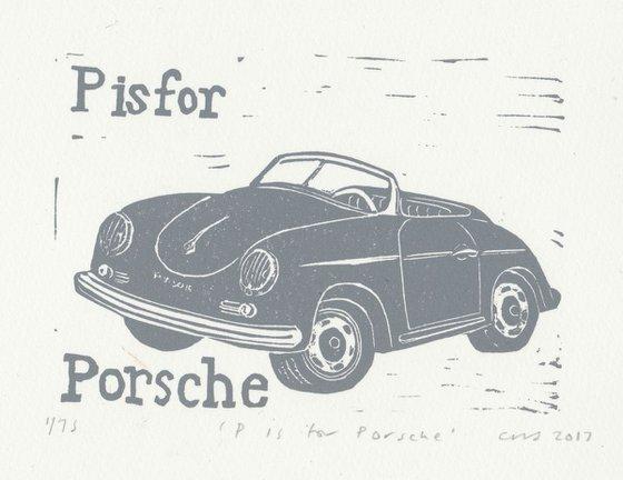 P is for Porsche